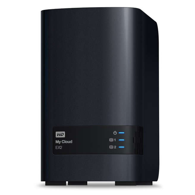 WD My Cloud EX2 big front